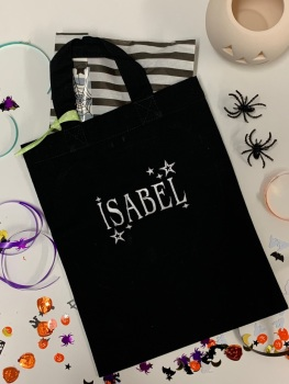 Personalised Halloween Trick or Treat Bag and Gift Set