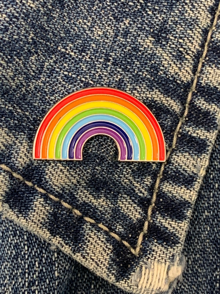 Rainbow  Enamel Pin Badge #0027