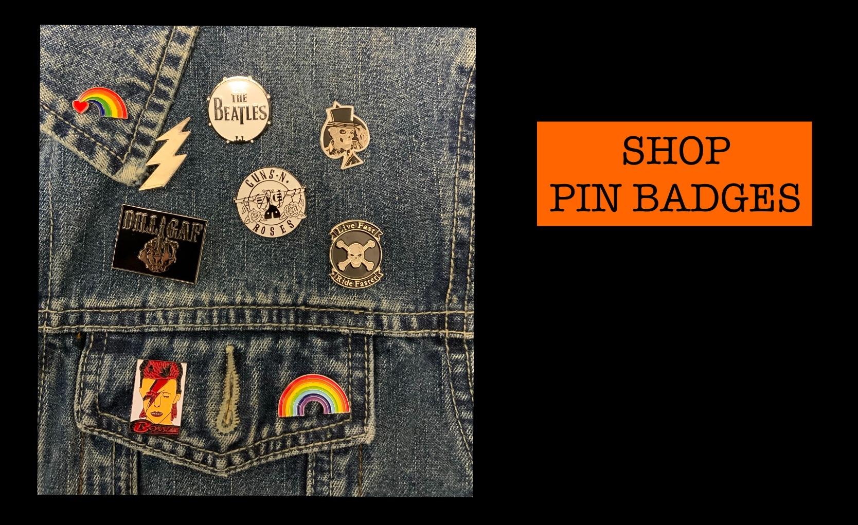 Shop pins