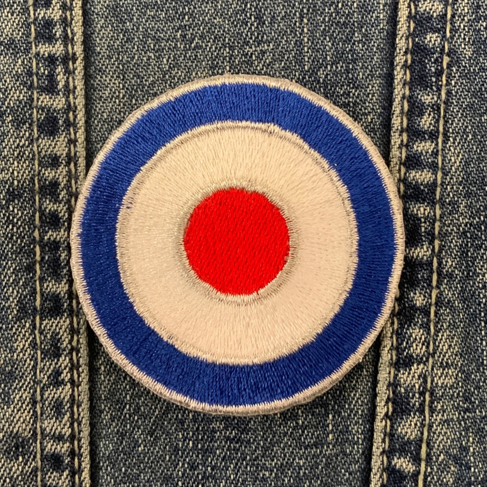 MOD Target Fabric Embroidered Patch