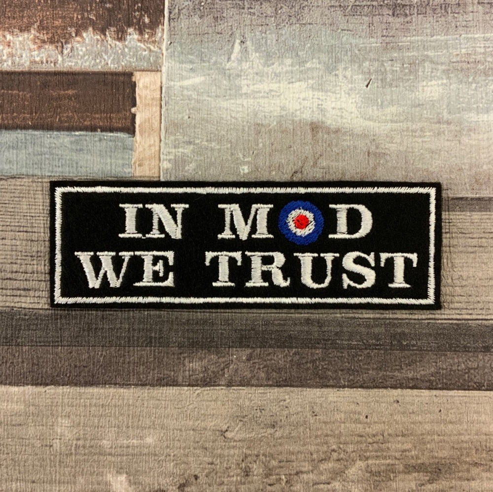 In Mod We Trust - Mod Target Scooter Patch