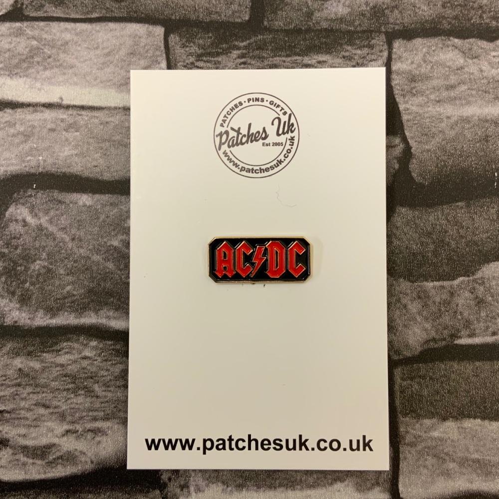 AC/DC Music Enamel Metal Pin Badge #0080