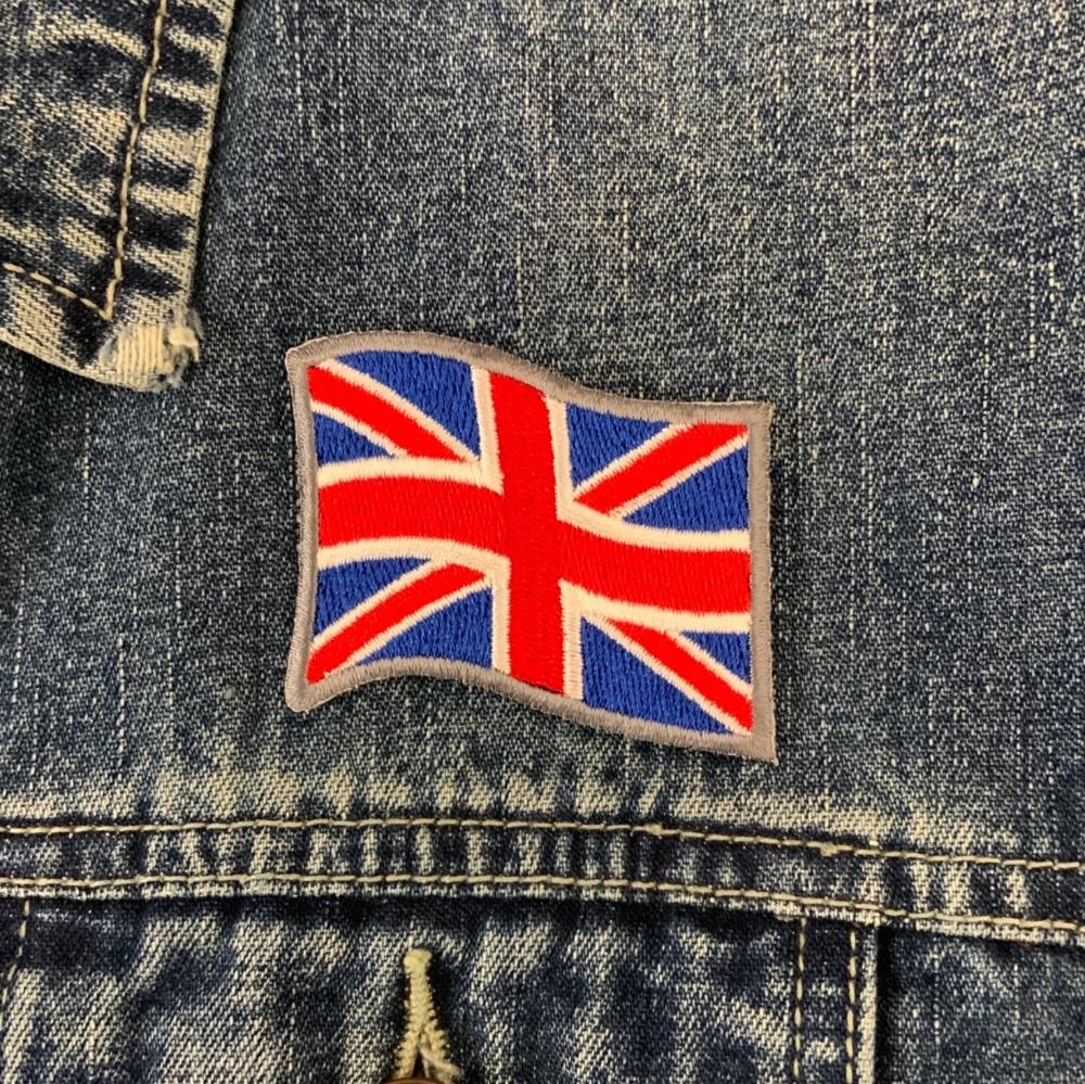 Union Flag/Union Jack UK British Flag Embroidered Patch