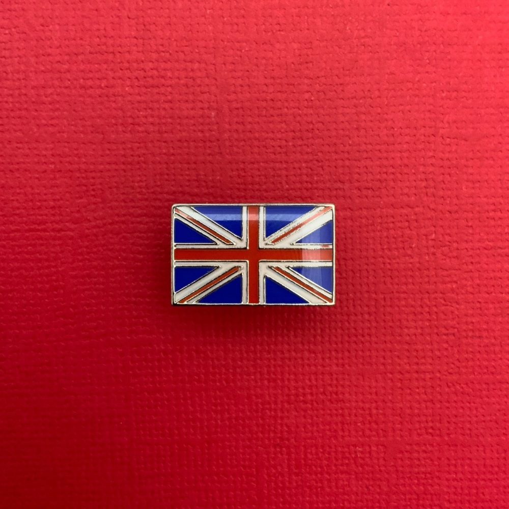 Union Jack Flag Enamel Pin Badge #0005