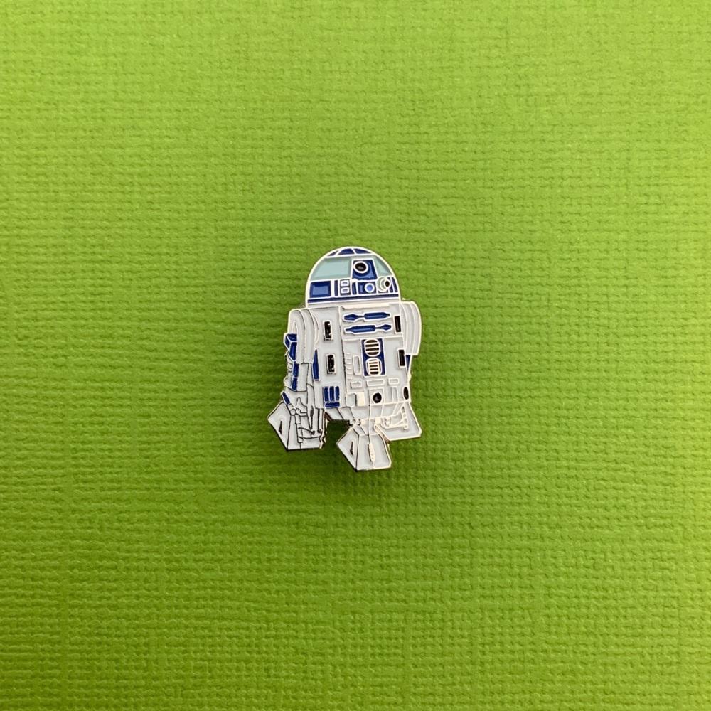 R2D2 Enamel Metal Pin Badge #0104