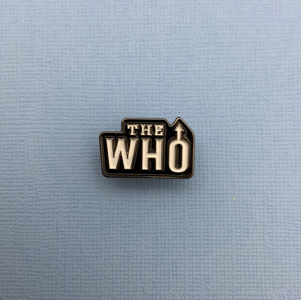 The Who Music Band Enamel Pin Badge #0086
