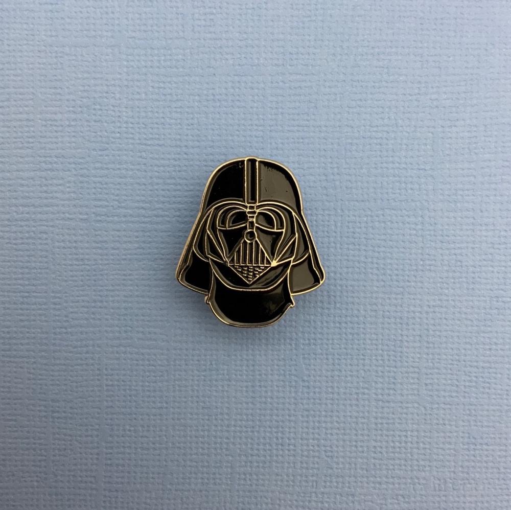 Darth Vader Head Enamel Pin Badge #0087