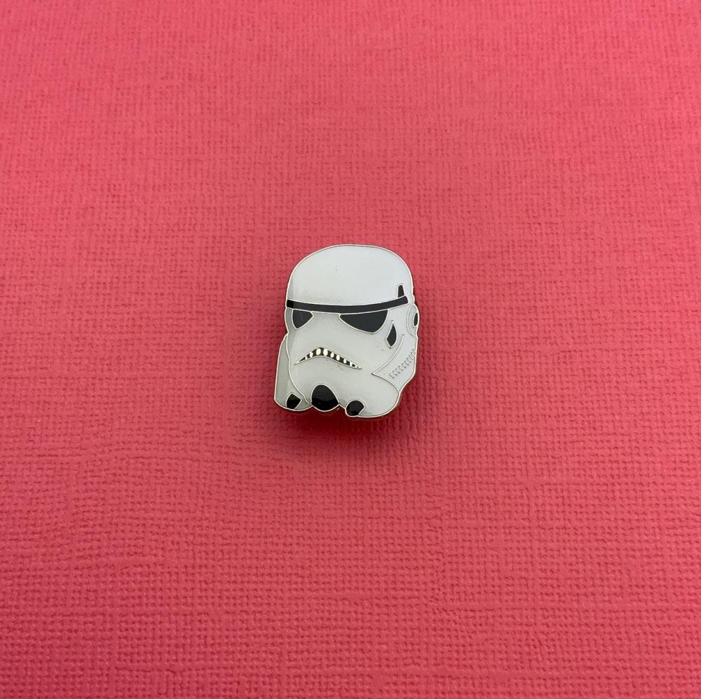 StormTrooper Head Enamel Pin Badge #0069