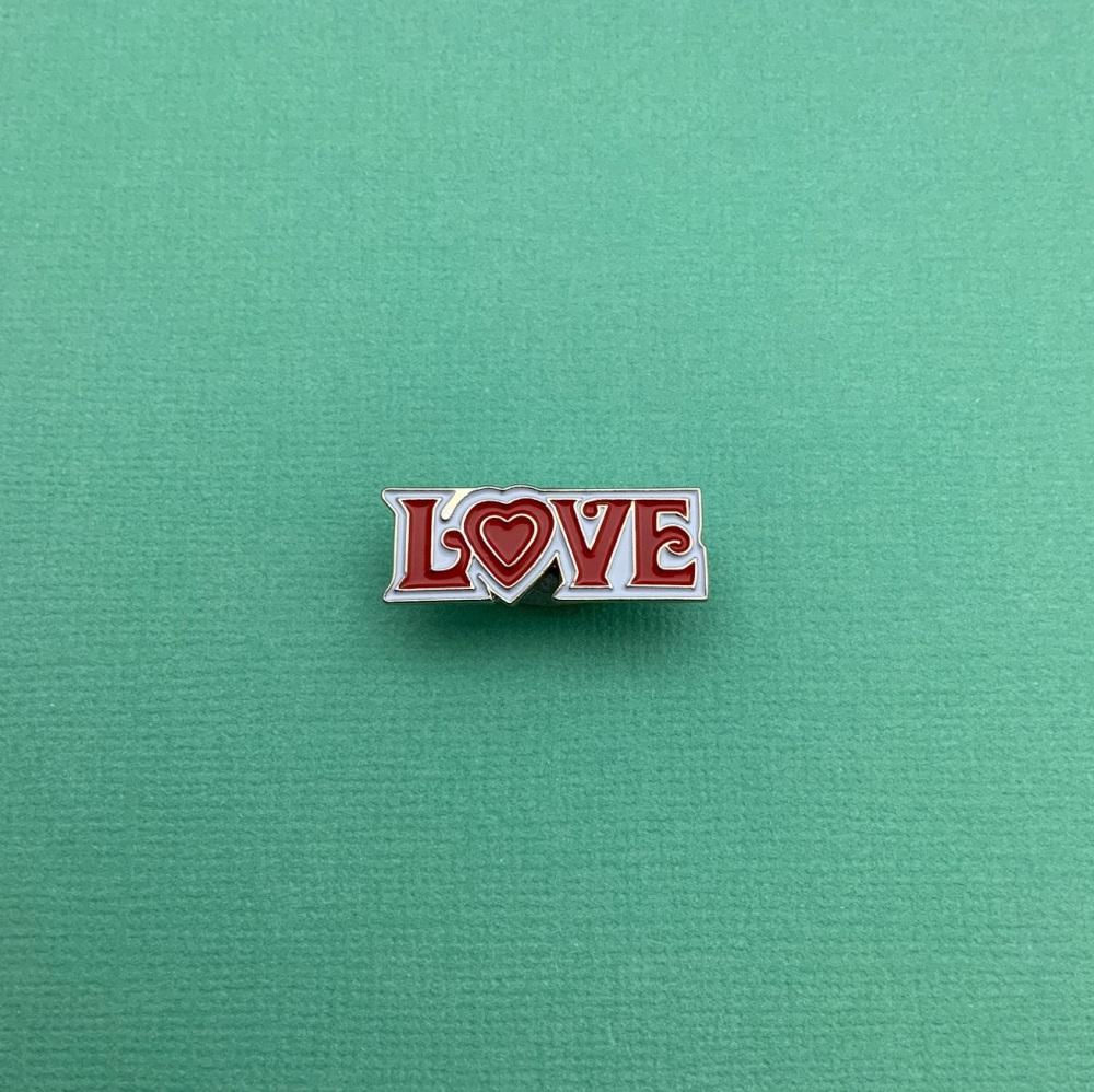 Love Enamel Pin Badge #0065
