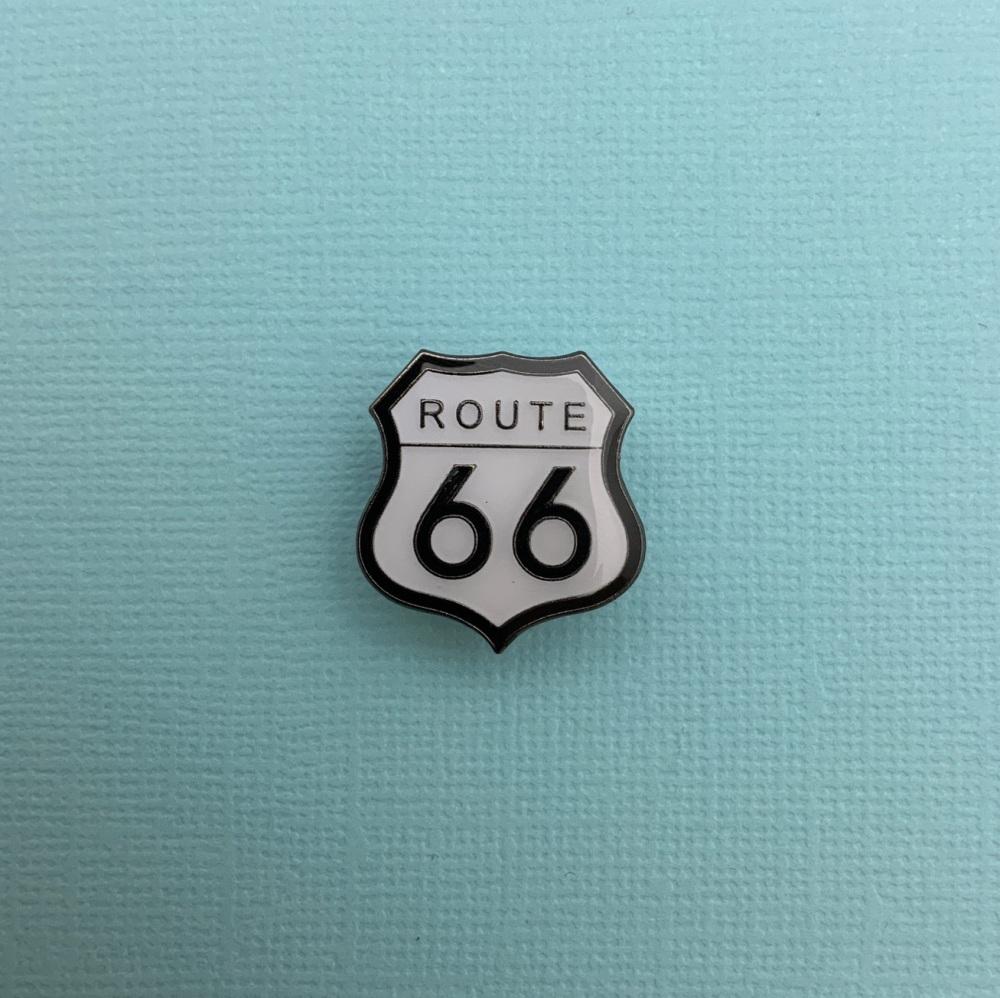 Route 66 Enamel Pin Badge #0030