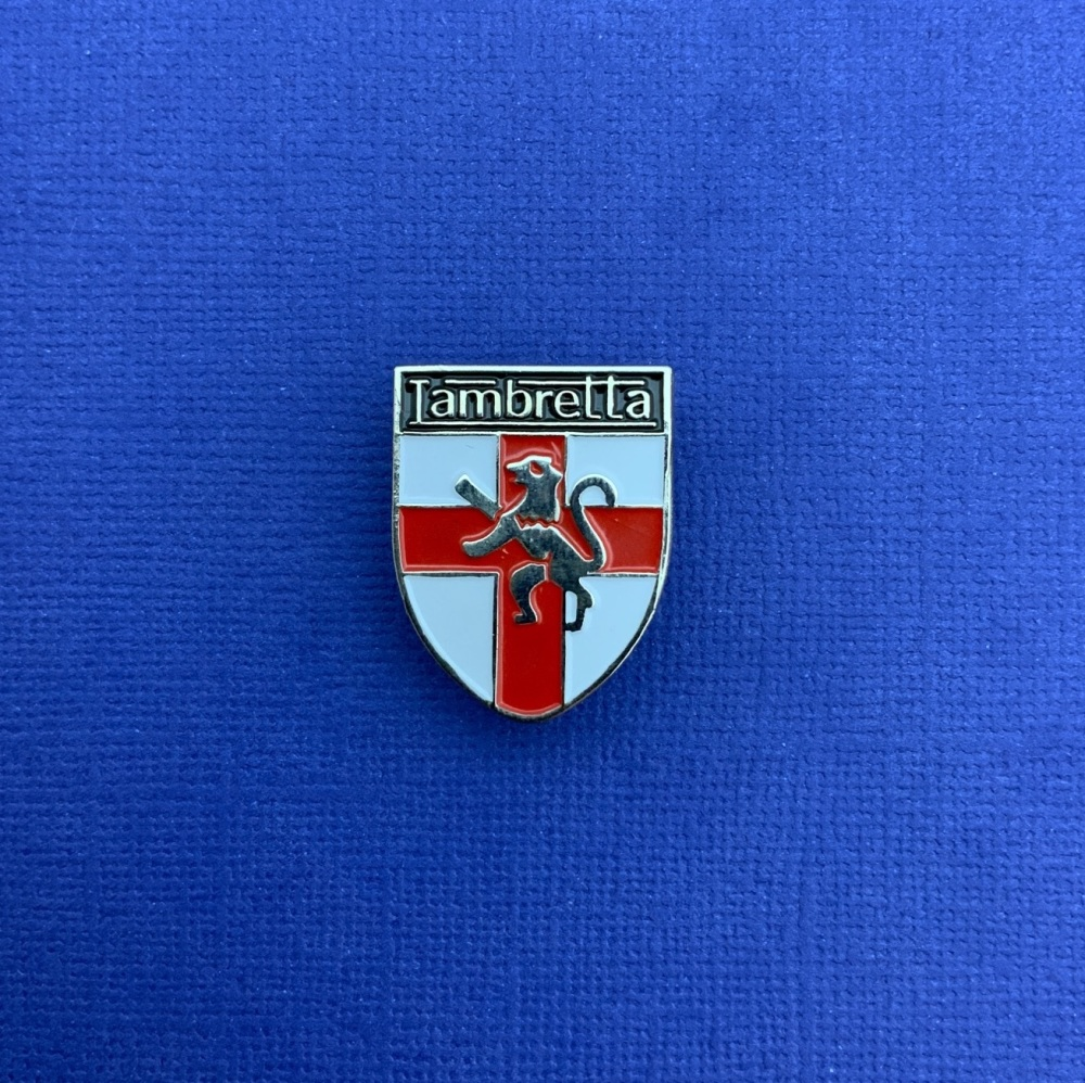 Lambretta Shield Enamel Metal Pin Badge #0031