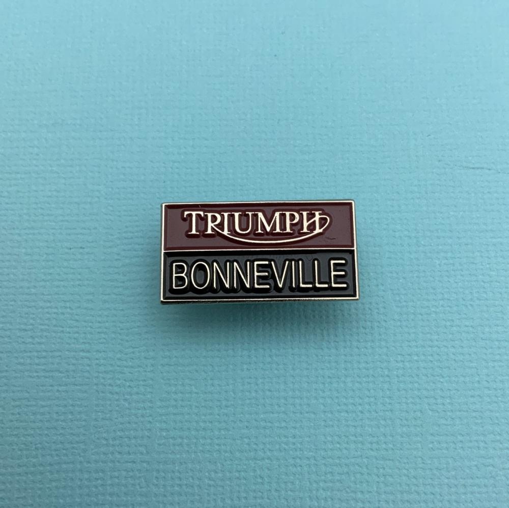 Triumph Bonneville Enamel Metal Pin Badge #0047