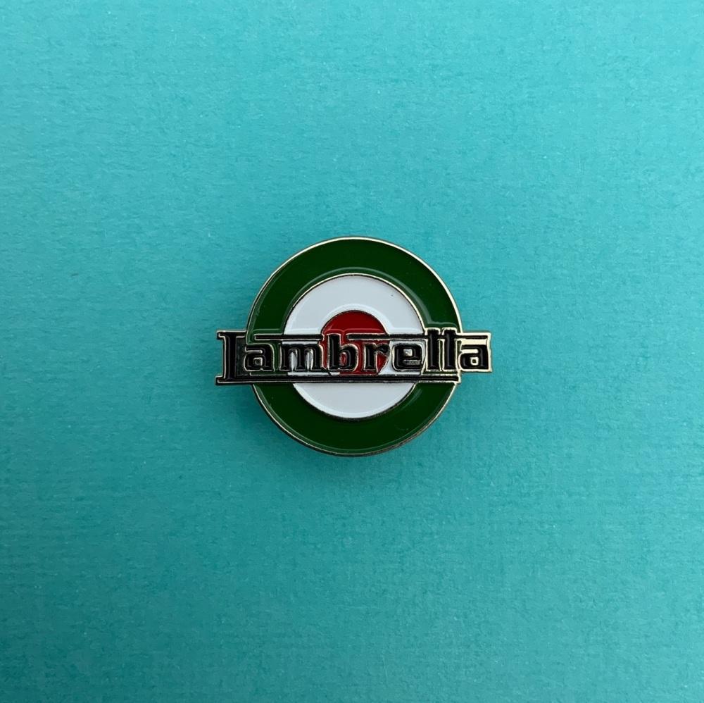 Lambretta Italian Colours MOD Roundel #0032