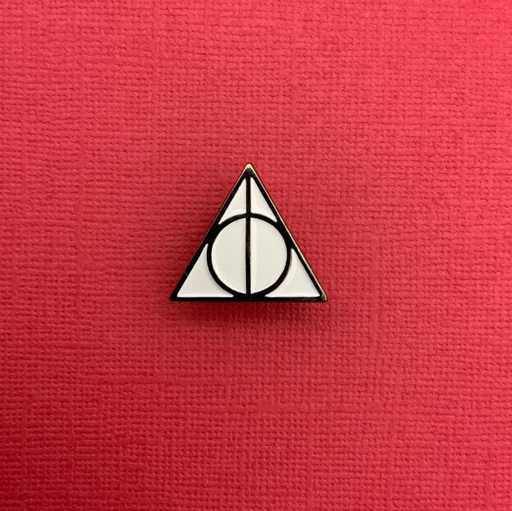 Deathly Hallows Enamel Metal Pin Badge #0103