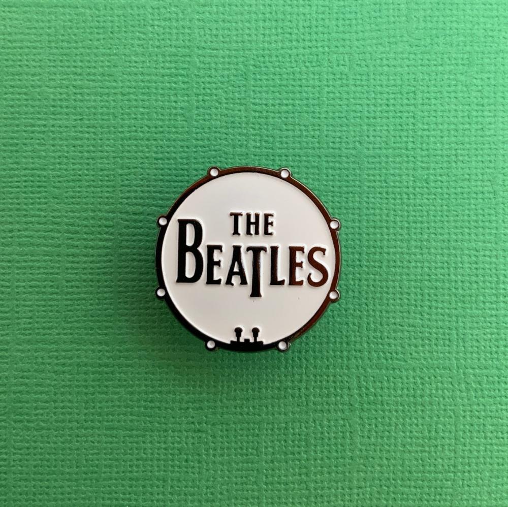 The Beatles Music Enamel Metal Pin Badge #0096