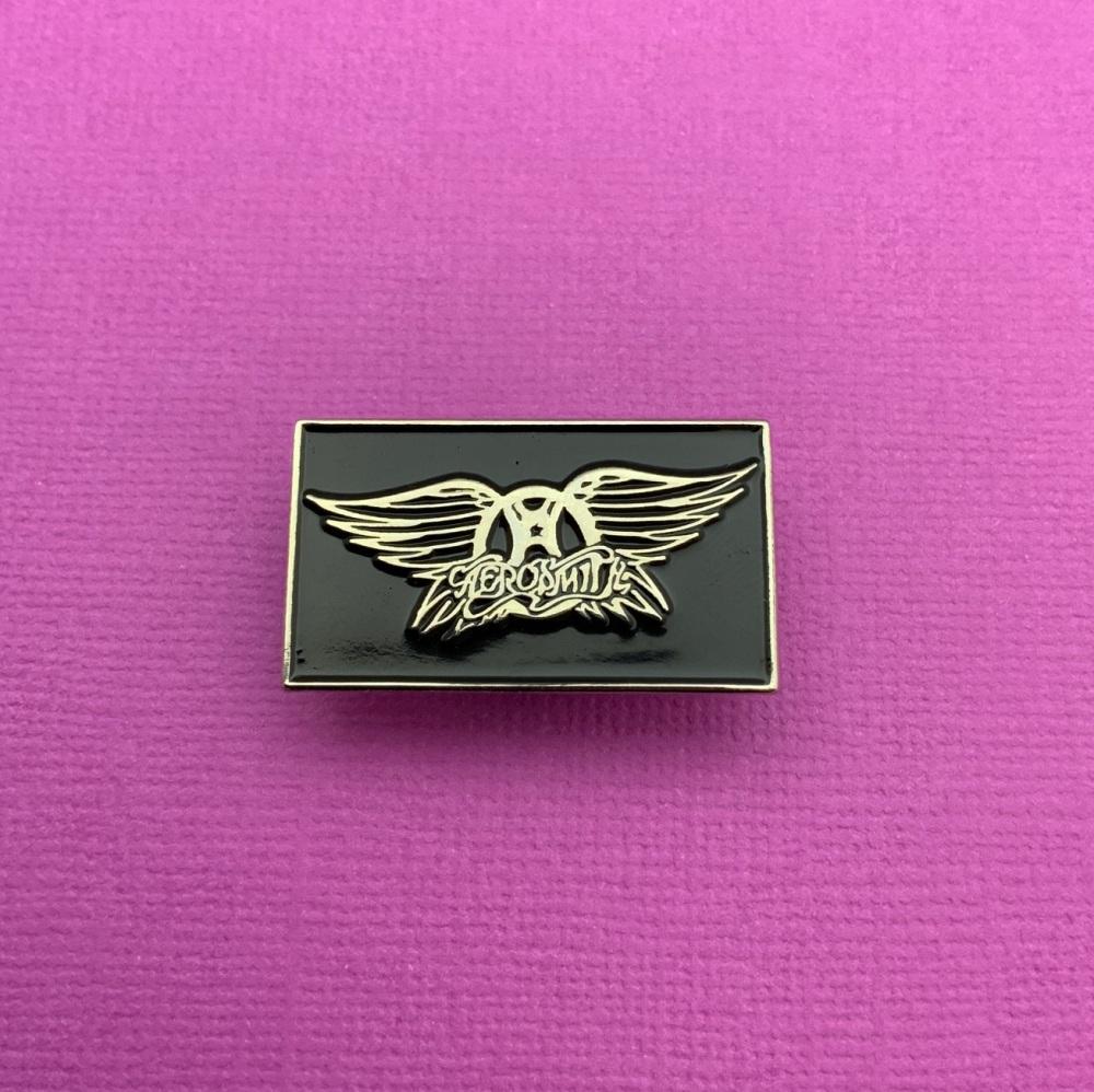 Aerosmith Music Enamel Metal Pin Badge #0091