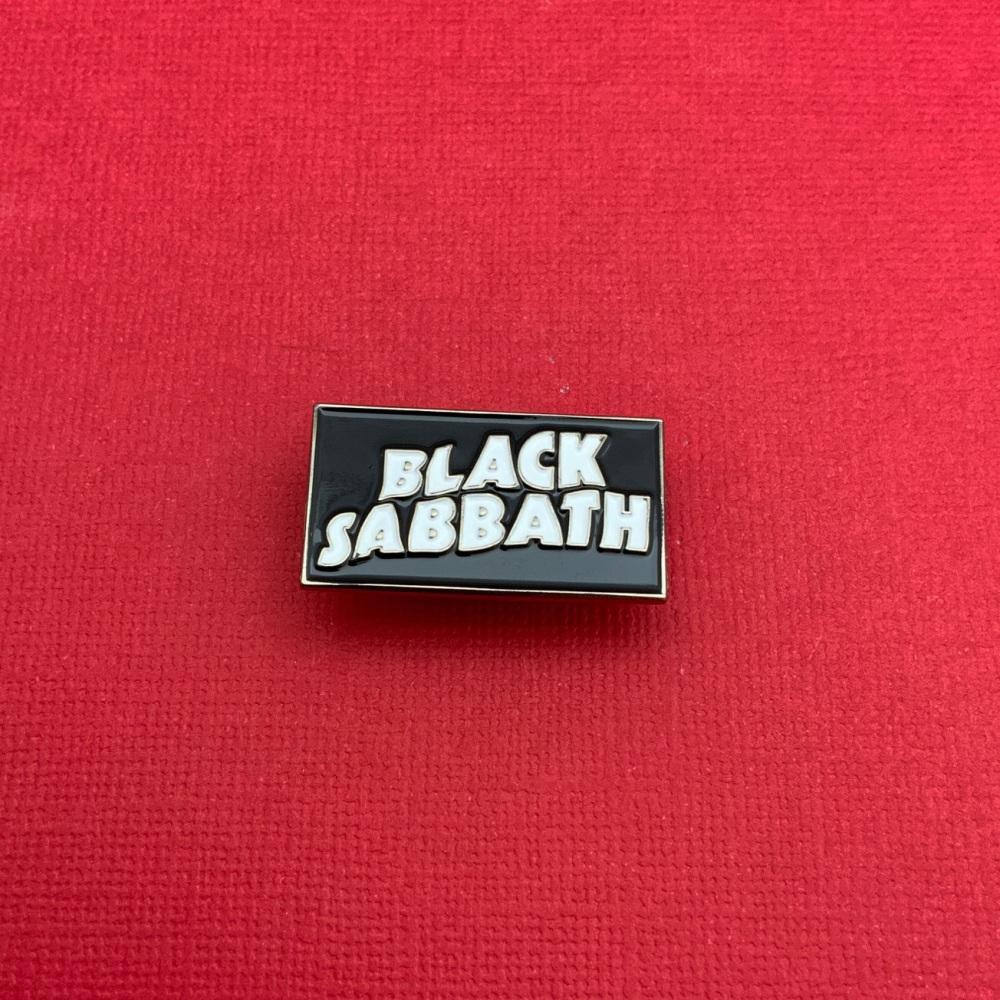 Black Sabbath Enamel Metal Pin Badge # 0125