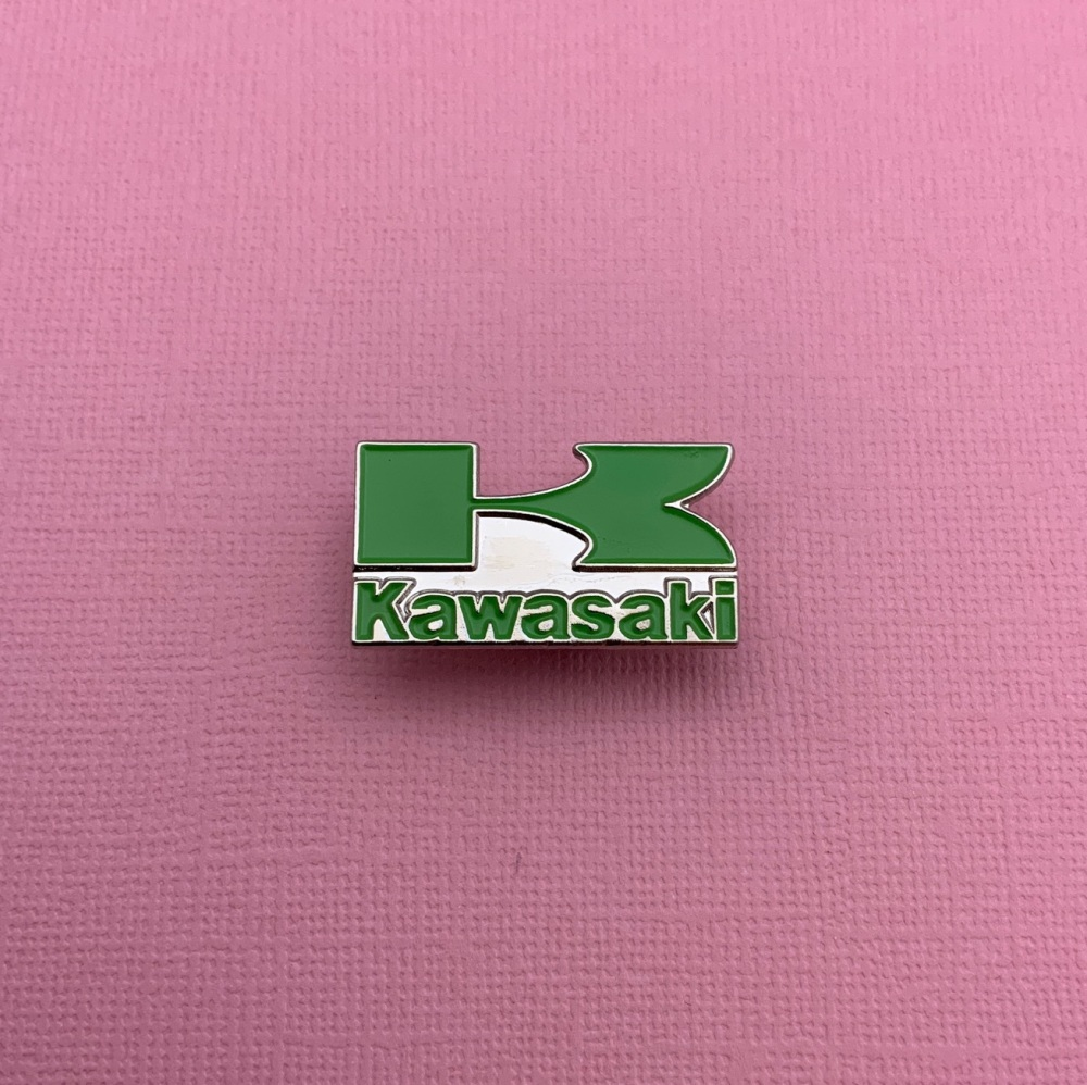Kawasaki Enamel Metal Pin Badge #0064