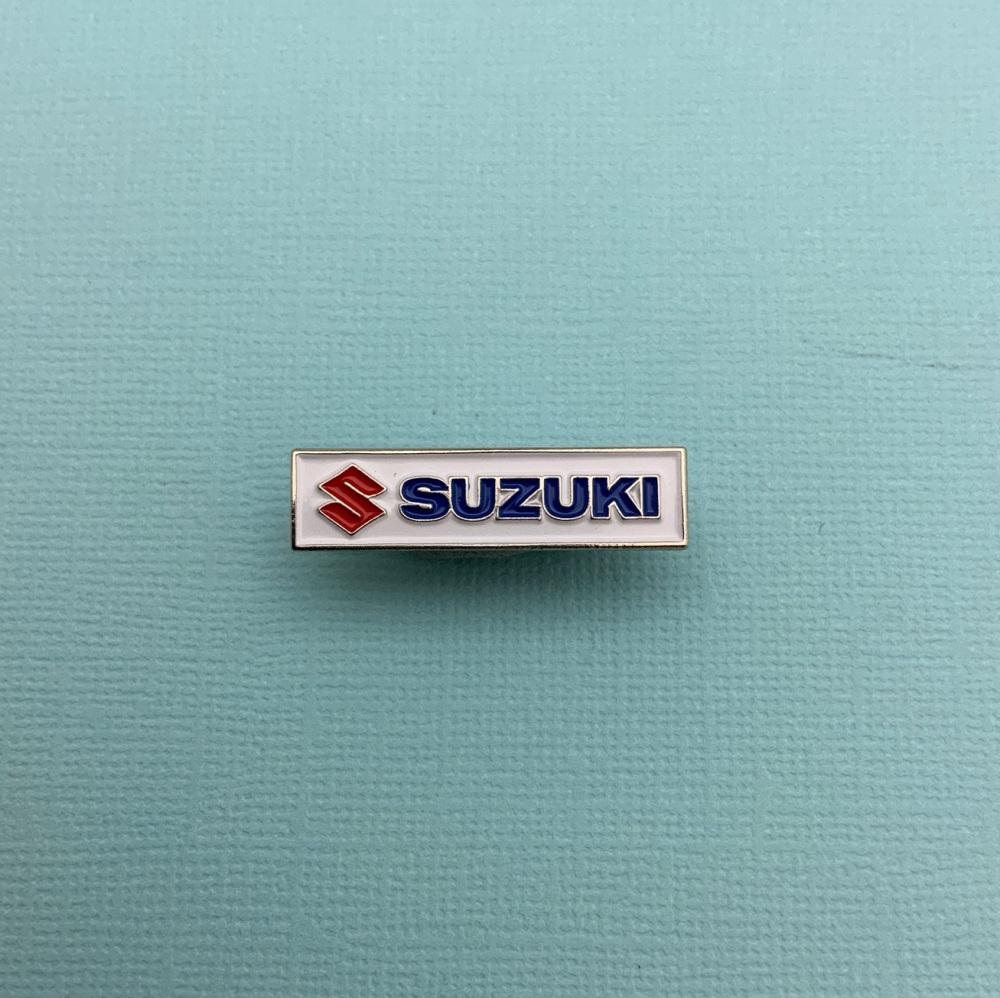 Suzuki Enamel Metal Pin Badge #0066