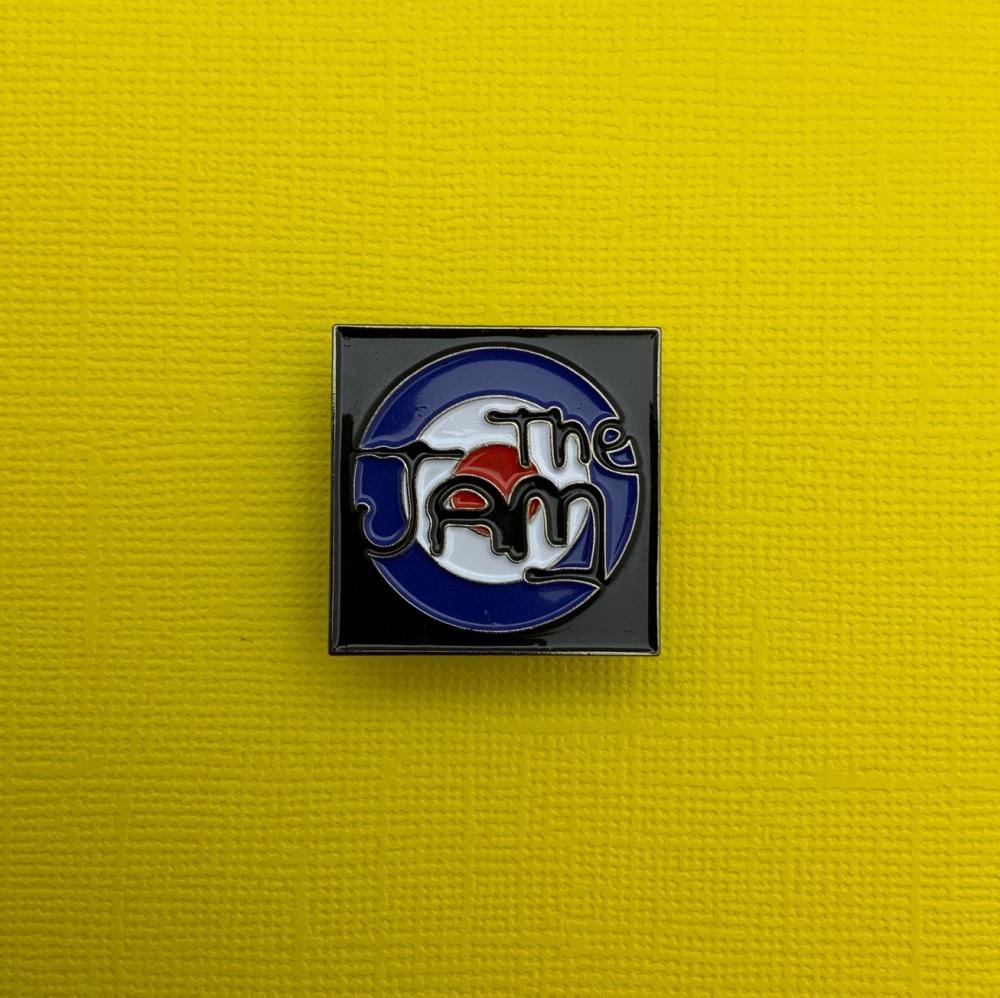 The Jam Enamel Metal Pin Badge #0073