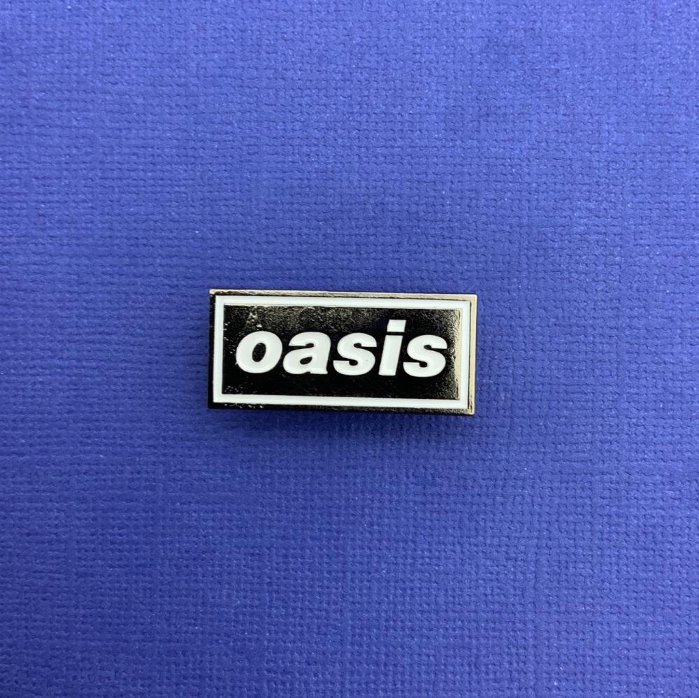 Oasis Music Enamel Metal Pin Badge #0101