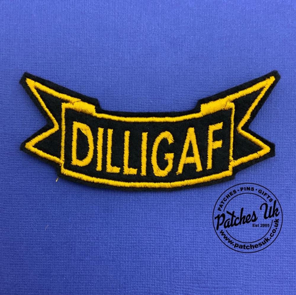 Dilligaf Bottom Rocker #0058
