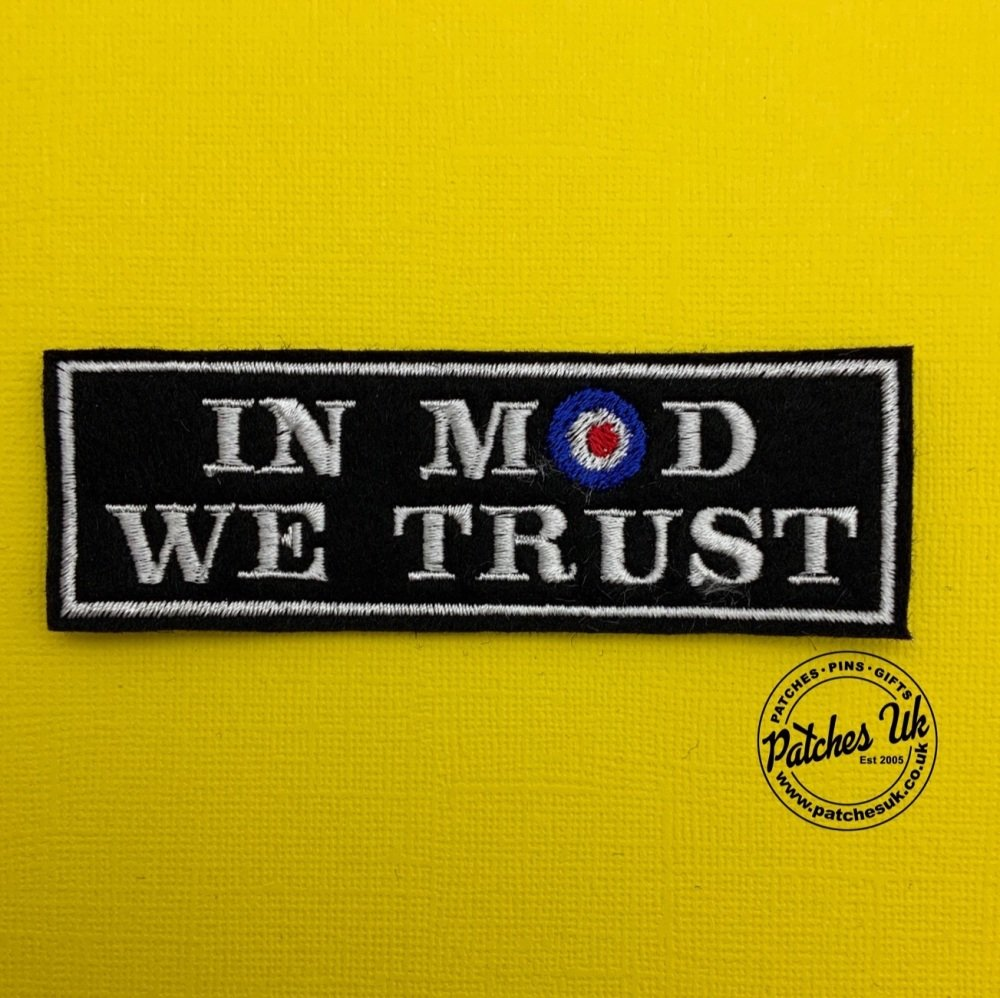 In Mod We Trust - Mod Target Scooter Patch #0040