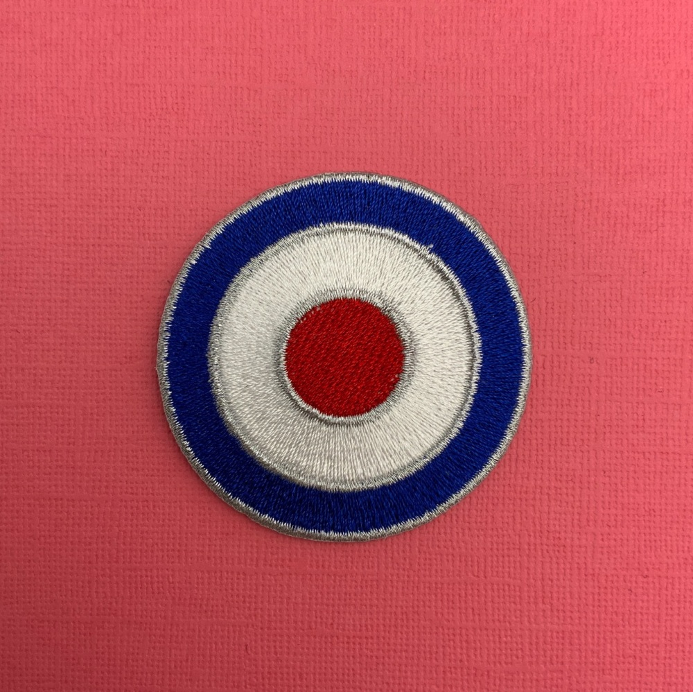 MOD Target Fabric Embroidered Patch #0072