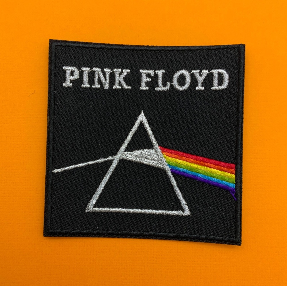Pink Floyd Embroidered Fabric Patch Music Band #0109