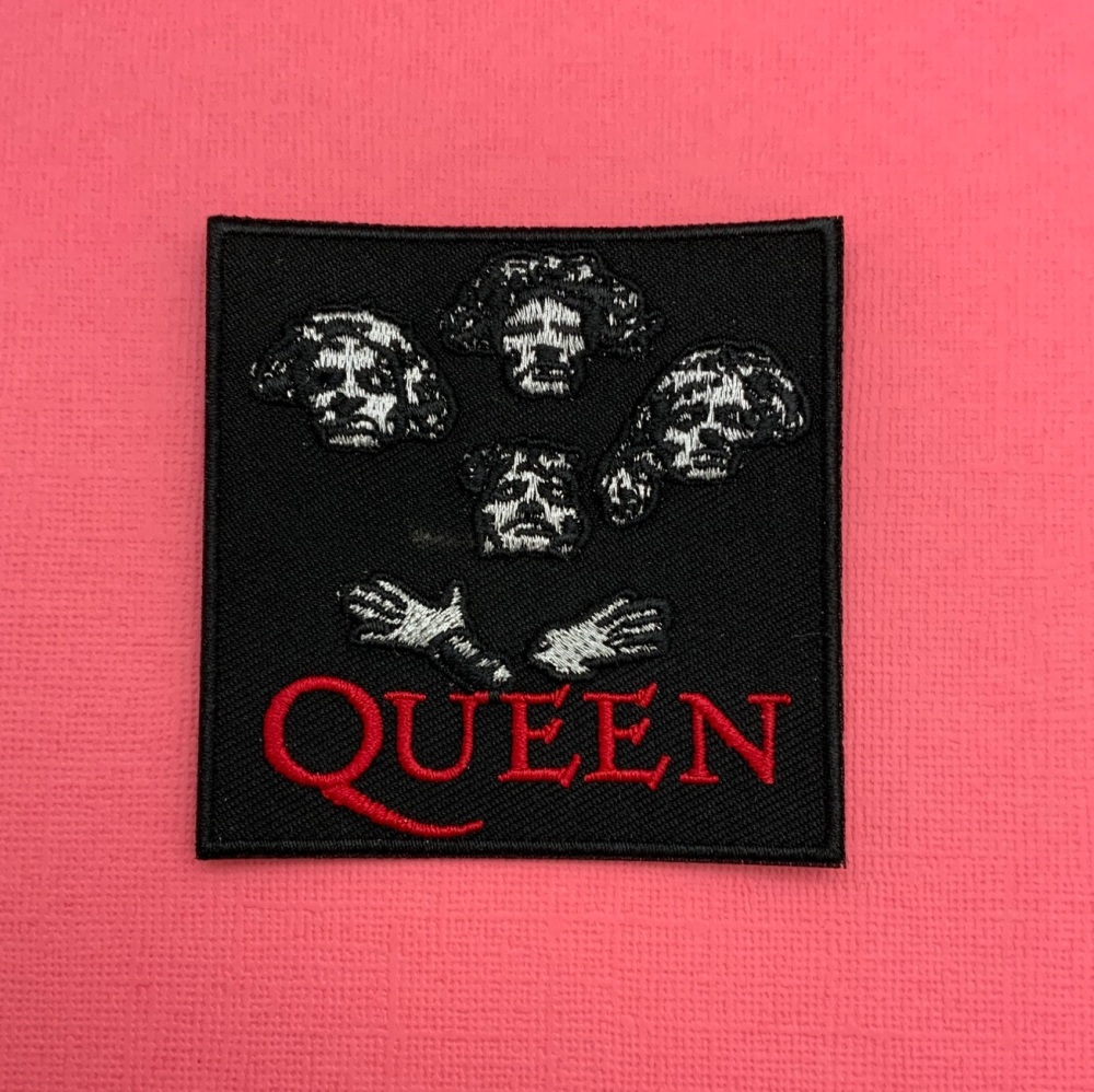 Queen Embroidered Fabric Patch Music Band #0110