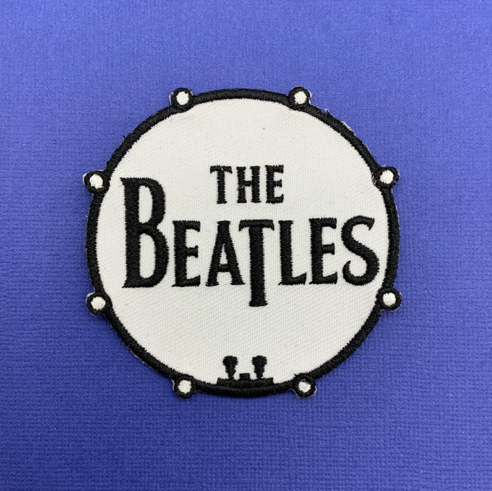 The Beatles Embroidered Fabric Patch #0112