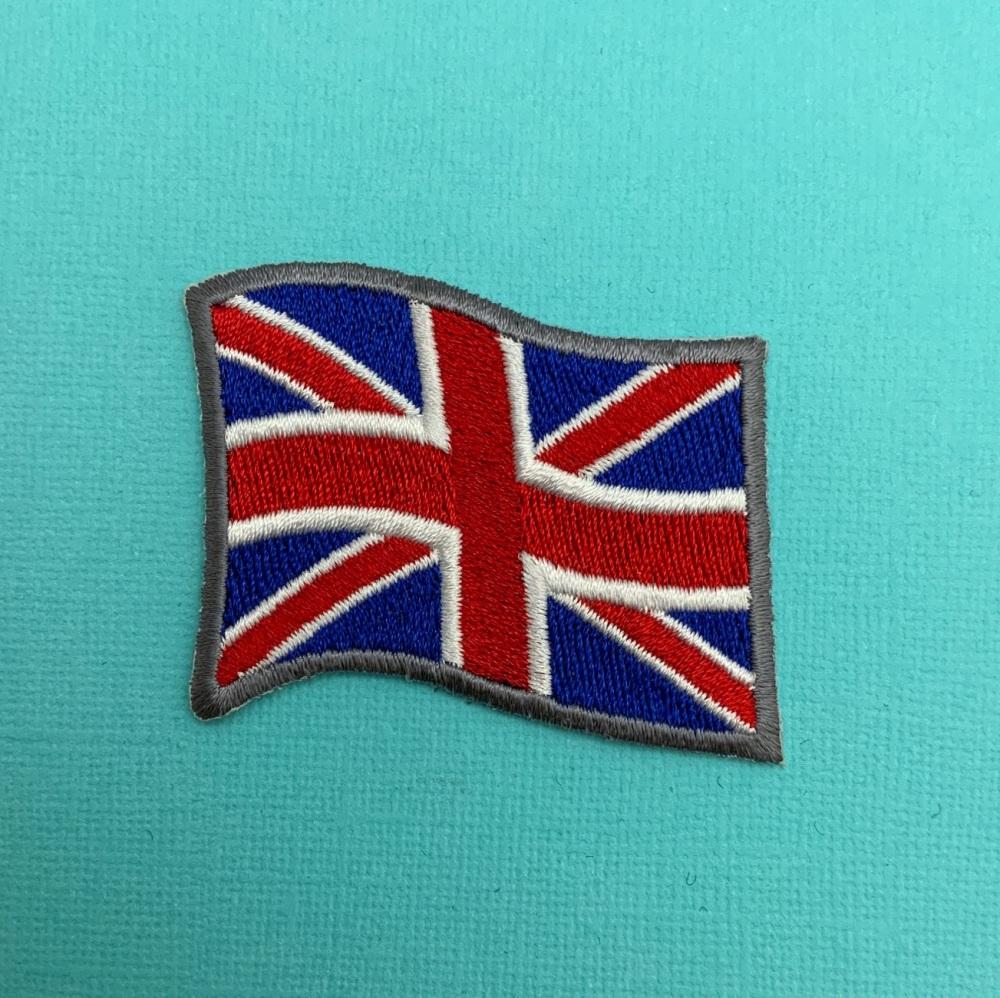 Union Flag/Union Jack UK British Flag Embroidered Patch #0094