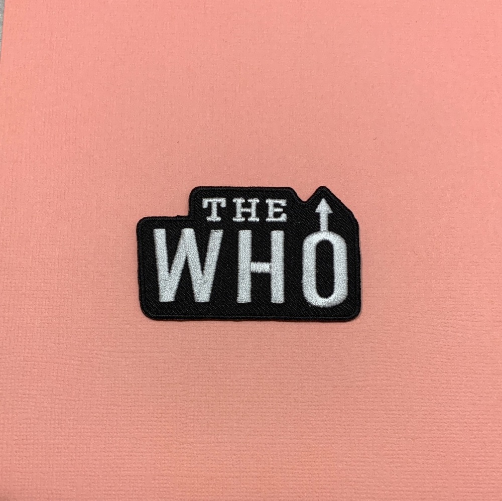 The Who Embroidered Fabric Patch Music Band #0108