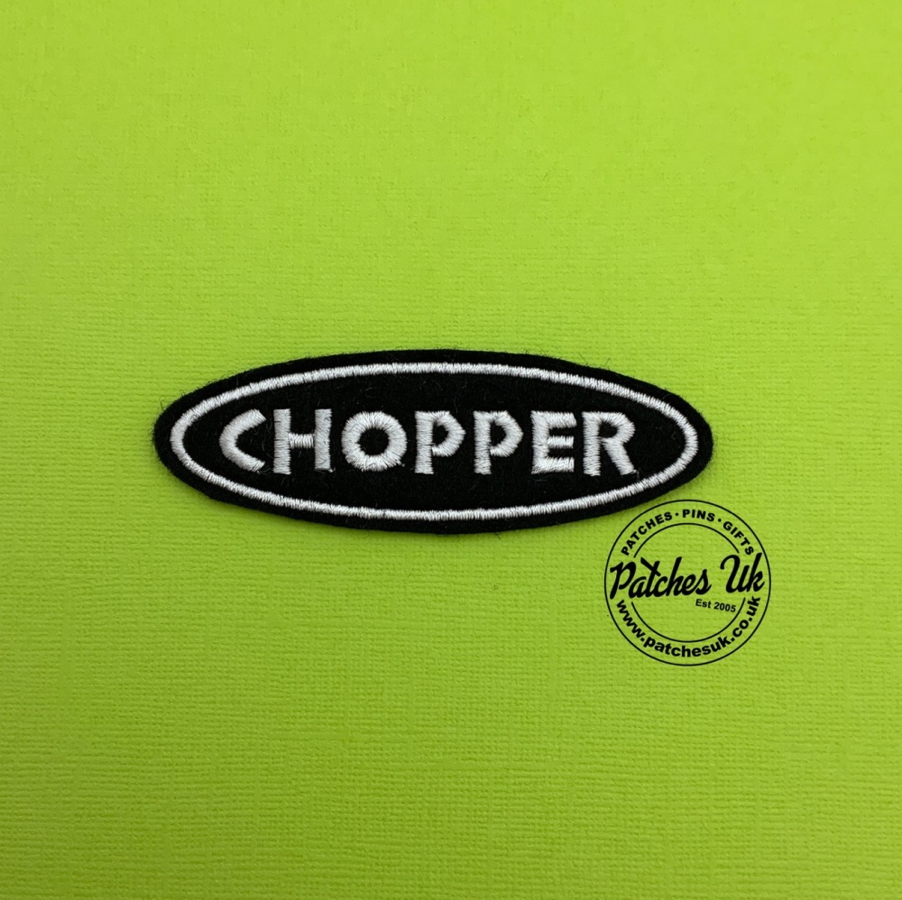 Chopper Embroidered Patch #0137