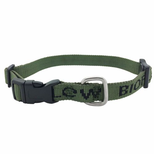 Olive dog collar