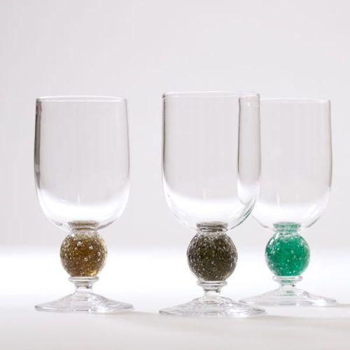 Group of three Stellar Wine Glasses | pear
