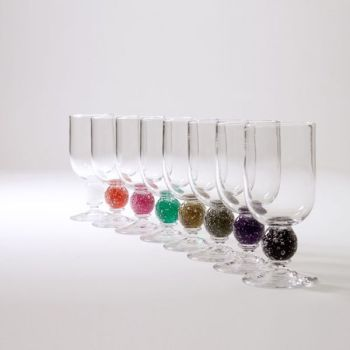 Stellar Wine Glass | apple