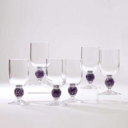 Stellar Wine Glass | damson