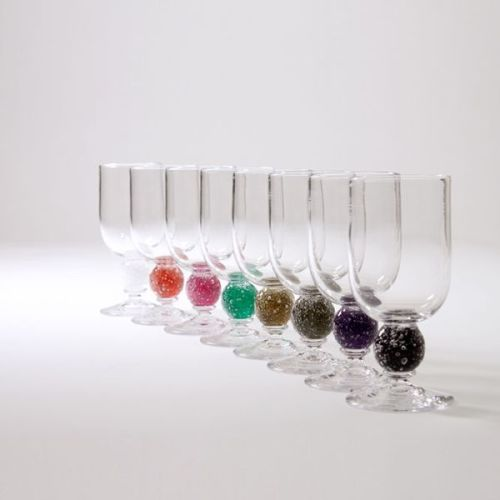 Stellar Wine Glass | damson