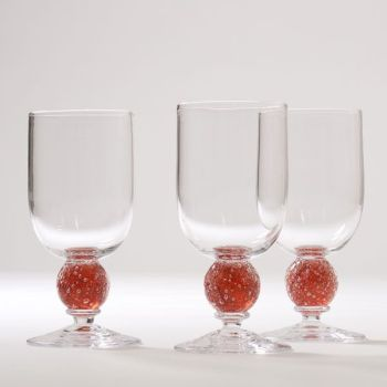 Stellar Wine Glass | peach