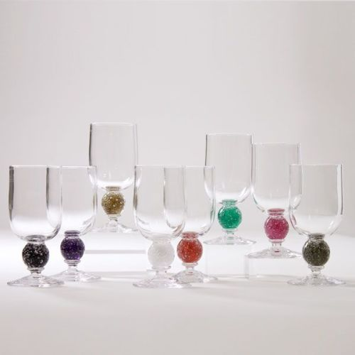 Stellar Wine Glass | peach