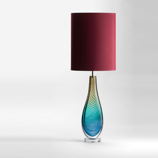Large Westmorland Lamp | Grizedale | wine shade