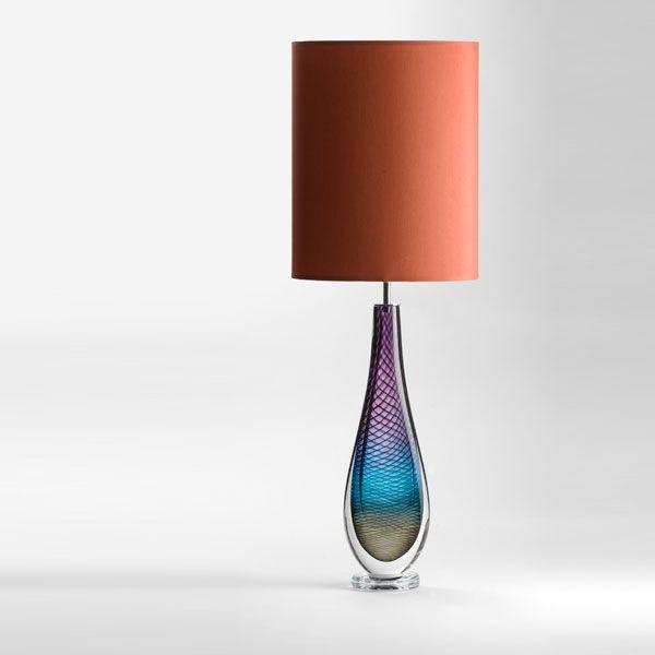 Large Westmorland Lamp | Fairfield | terracotta shade