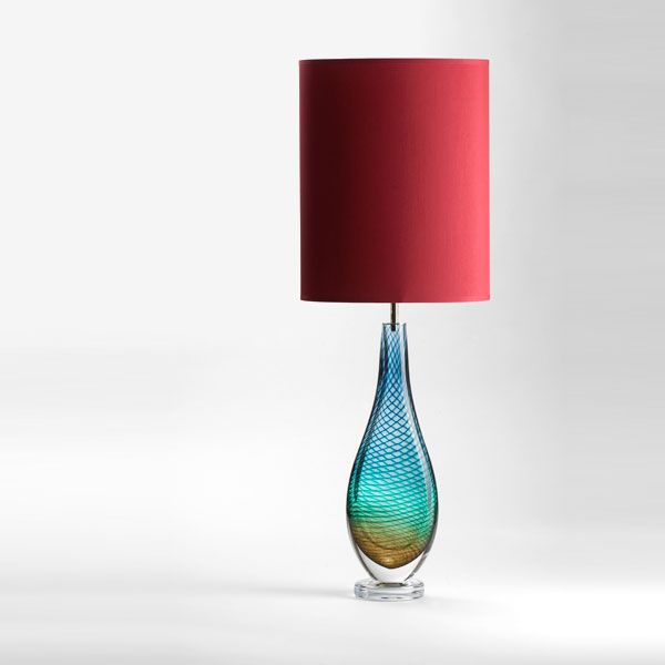 Large Westmorland Lamp | Grasmere | brick shade