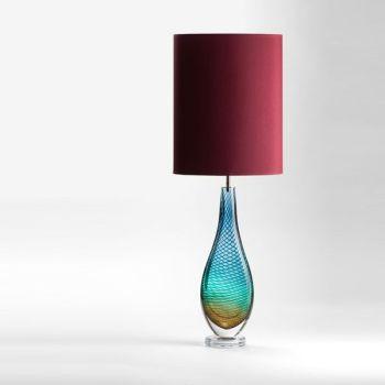 Large Westmorland Lamp | Grasmere | wine shade