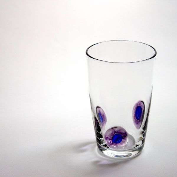 Peacock Tumblers | purple