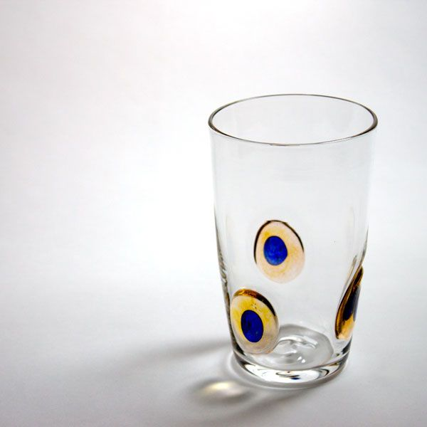 Peacock Tumblers | yellow