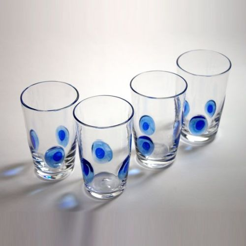 Peacock Tumbler | blue | group view