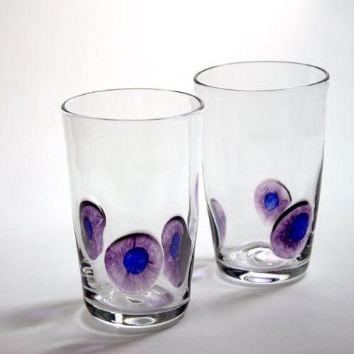 Peacock Tumbler | purple