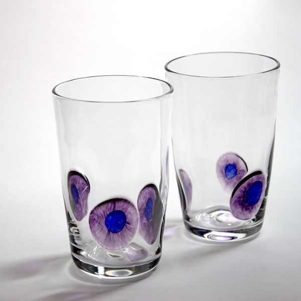 Peacock Tumbler | purple